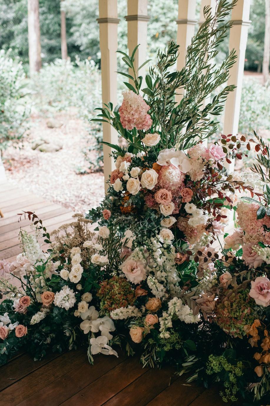 Bridal arbor flowers