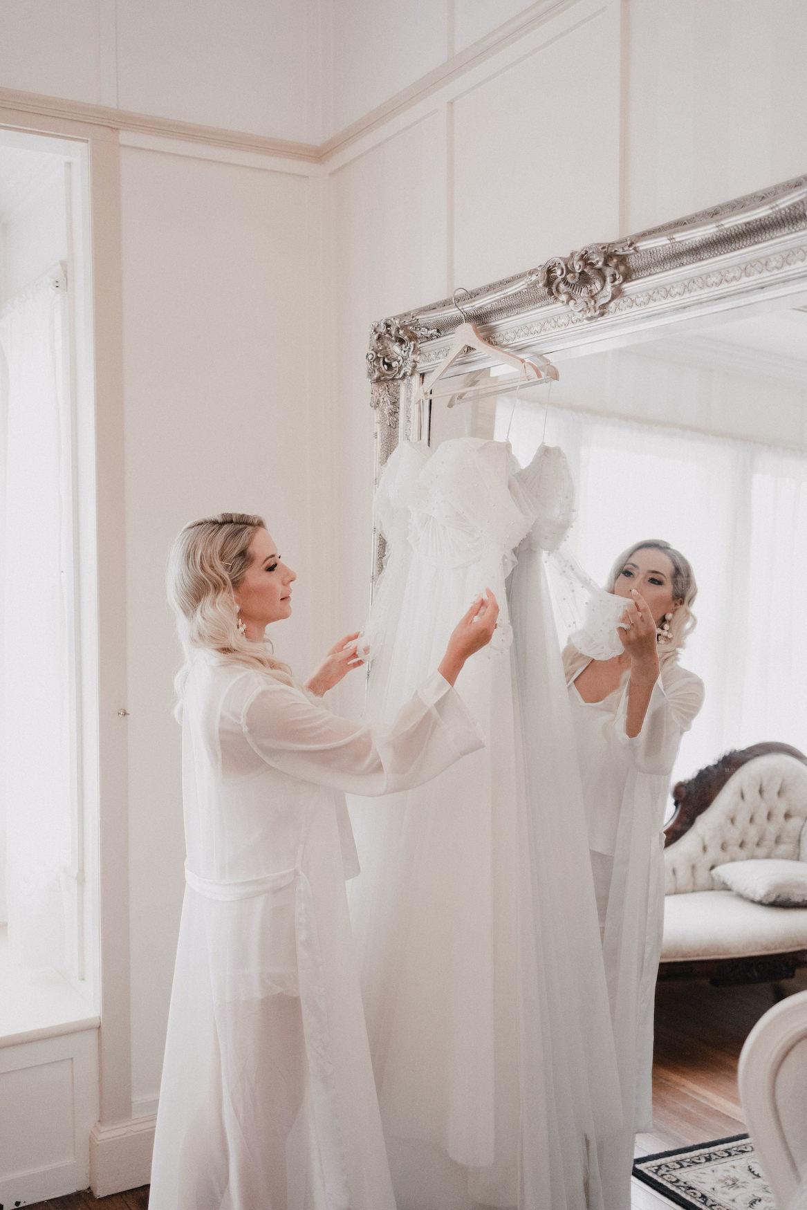 Bride in Bride's retreat
