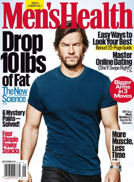 Men's Health September Cover