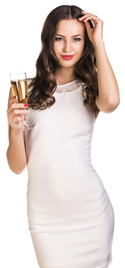 party-champagne-woman