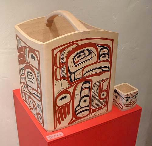 Water Bucket Eagle Design