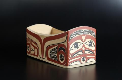 Eagle & The Young Chief Bentwood Box