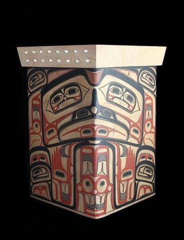Sea Monster Design Bentwood Box