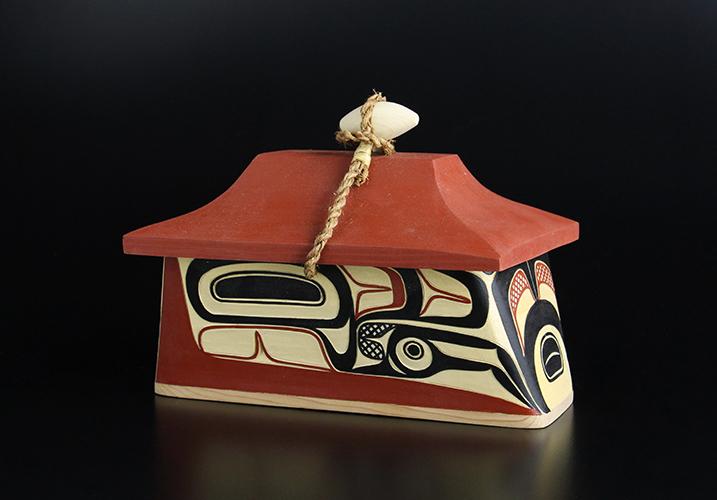Canoe Box Eagle Design