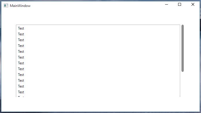 Apple Scrollbar on WPF Window