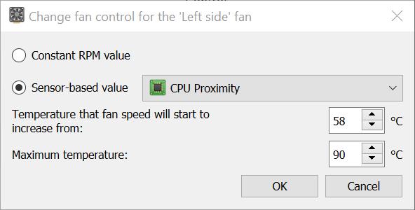 Mac Fans Control Settings