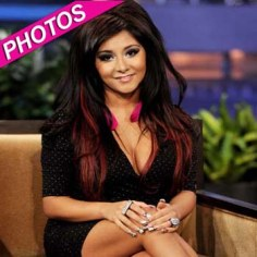 Howie Mandel_ Nicole _Snooki_ Polizzi And Patrick Stump On _The Tonight Show With Jay Leno_