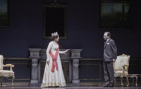 The Estates Theatre - NT - The Audience, photo: Martin Špelda