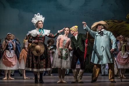 Ballet NT - The Wayward Daughter | Alina Nanu, Alexandre Katsapo, Veaceslav Burlac, Tomáš Kopecký - photo: Martin Divíšek