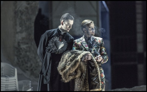 ND - Manon Lescaut | Radúz Mácha, Petr Šmíd – foto: Patrik Borecký