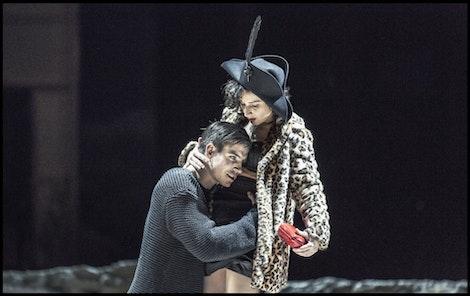 ND - Manon Lescaut | Vladimír Polívka, Lenka Zbranková – foto: Patrik Borecký