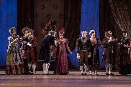 Balet ND - Oněgin | foto: Serghei Gherciu