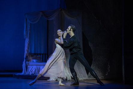 Balet ND - Oněgin | Miho Ogimoto, Giovanni Rotolo - foto: Serghei Gherciu