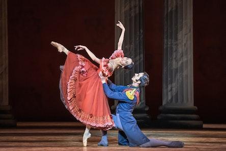 Balet ND - Oněgin | Moho Ogimoto, Adam Zvonař - foto: Serghei Gherciu