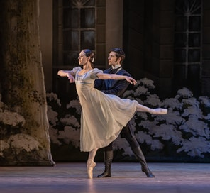 Balet NT - Oněgin | Danilo Lo Monaco, Nikola Márová - foto: Serghei Gherciu