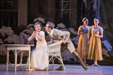 Balet ND - Oněgin | Irina Burduja, Federico Ievoli - foto: Serghei Gherciu