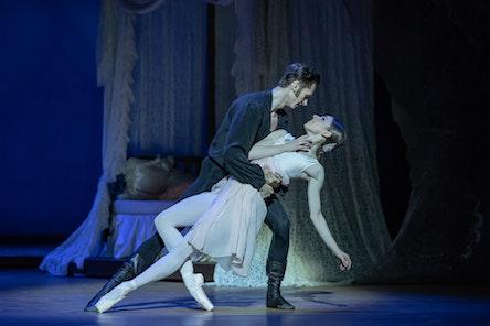 Balet ND - Oněgin | Alina Nanu, Patrik Holeček - foto: Serghei Gherciu