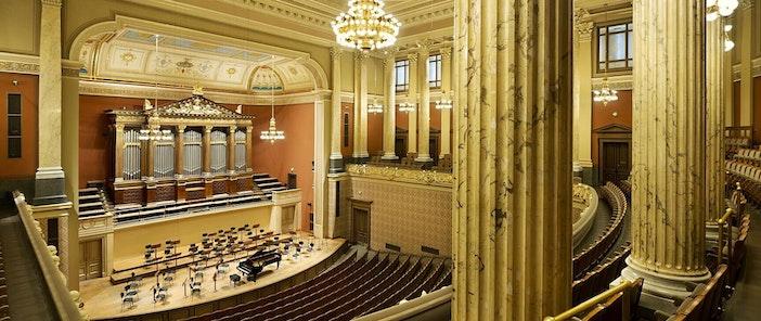 Dvořákova síň - Rudolfinum - koncertní sál - Česká filharmonie