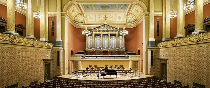 Dvořákova síň - Rudolfinum - koncertní sál - Colosseum ticket - Online prodej vstupenek na koncerty klasické hudby