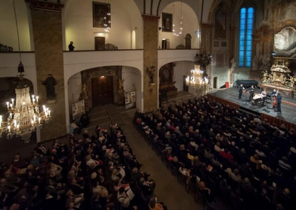 Kostel sv. Šimona a Judy - Praha - koncertní sál - Colosseum ticket - Online prodej vstupenek na koncerty klasické hudby