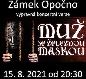 Muž se železnou maskou - Kultura pod hvězdami - Colosseum ticket - Online projed vstupenek nejen na kulturní akce