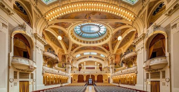 Smetanova síň - Obecní dům - koncertní sál - Colosseum ticket - Online prodej vstupenek na koncerty klasické hudby