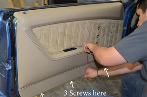 Camaro Molded Sport Door Panel Install Instructions