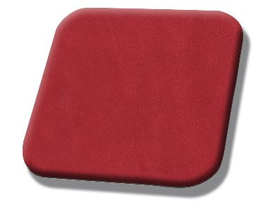 #7012 Hot Red Suede