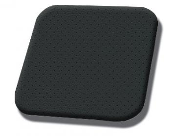 #5000 Black-Black Perf Stripe