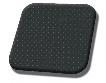 #5003 Black-White Perf Stripe