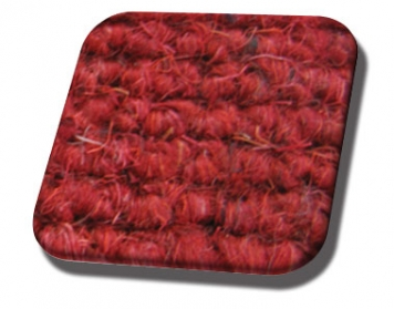 #909 Red German Square Weave