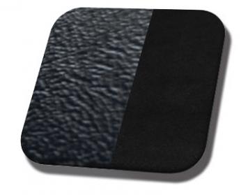 #958-99 Black Sierra Grain - Black Suede