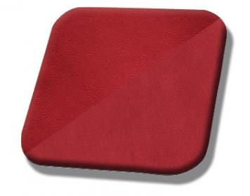 #7300-7012 Red Vinyl - Red Suede