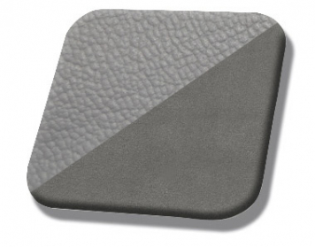 #972-7042 Titanium Grey - Medium Graphite Unisuede