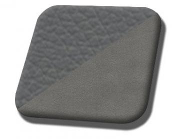 #985-7042 Grey Vinyl - Medium Graphite Suede