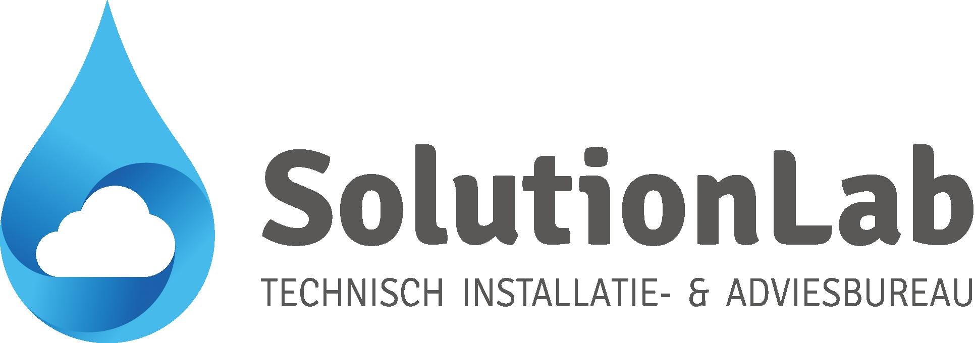 Logo van SolutionLab Zwart