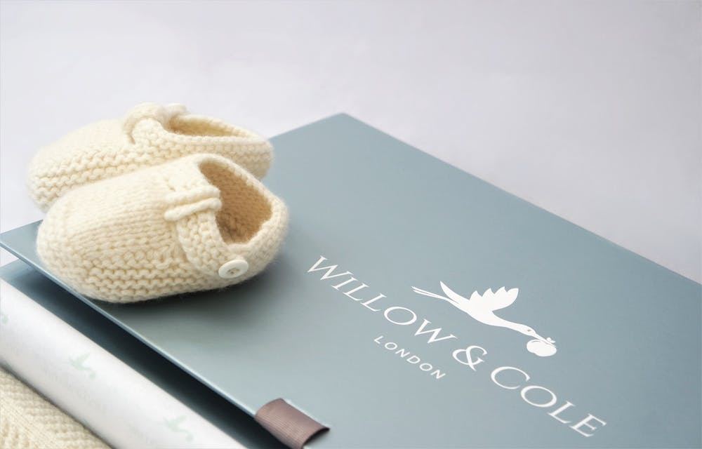 Cashmere Booties Gift Box