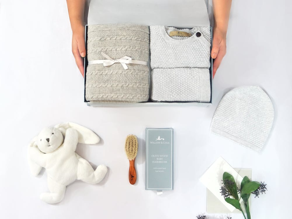 Willow and Cole Premium Newborn Gift Set