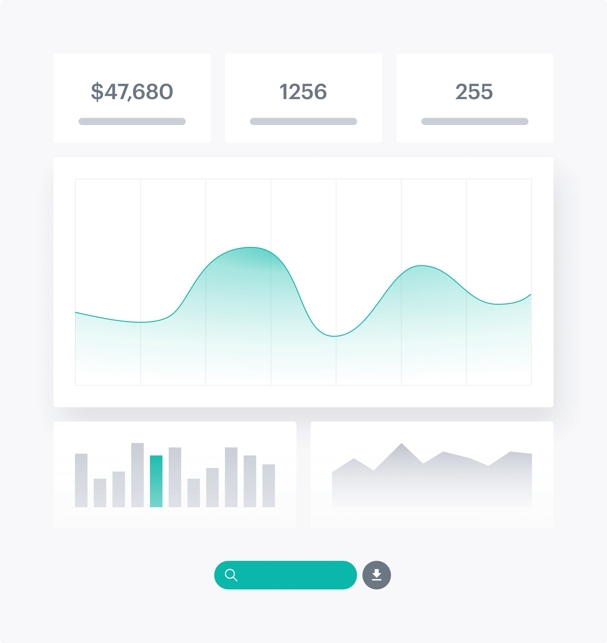 MoonClerk dashboard with analytics and key metrics