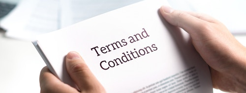 Terms and Conditions papers