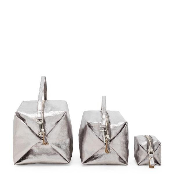 UASHMAMA Origami Case  Metallic Acciaio