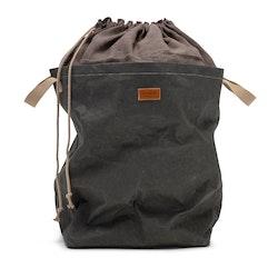 UASHMAMA Positano Laundry Bag Linen Dark Grey