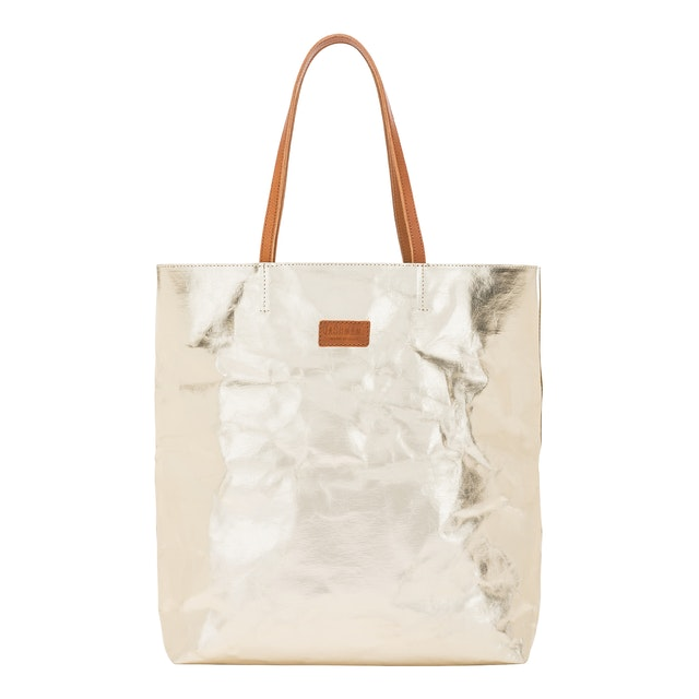 UASHMAMA Tosca Bag Metallic Metallic Platino