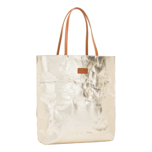 UASHMAMA Tosca Bag Metallic Metallic Platinum