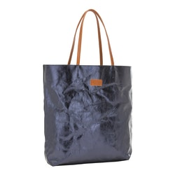 UASHMAMA Tosca Bag Metallic Metallic Petrolio