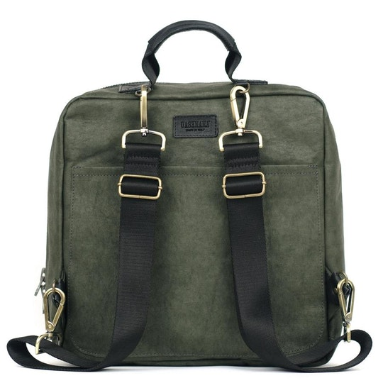 UASHMAMA New York Backpack Dark Green