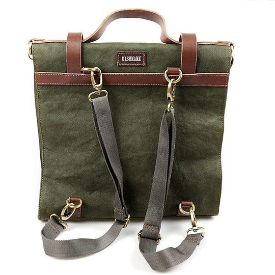 UASHMAMA Giova Bag Dark Green