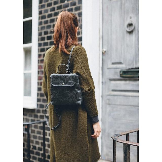 UASHMAMA Aghi Backpack Black