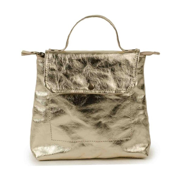 UASHMAMA Aghi Backpack Metallic Platinum