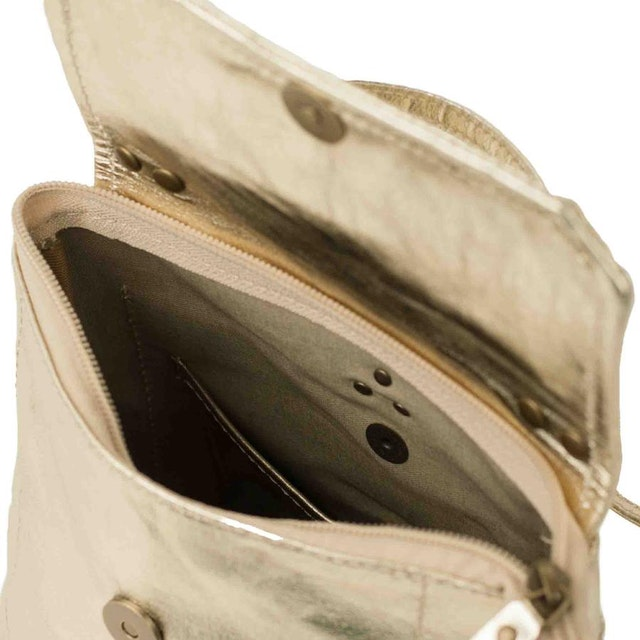 UASHMAMA Aghi Backpack Metallic Platinum